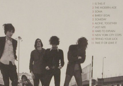 Strokes,The: Is This It, RCA(), EU, 2001 - CD - 82311 - 5,00 Euro