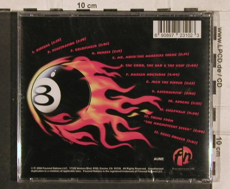Dillingers, the: Instro Mania, FS-New, Favored Nations(), EU, 2004 - CD - 83051 - 10,00 Euro