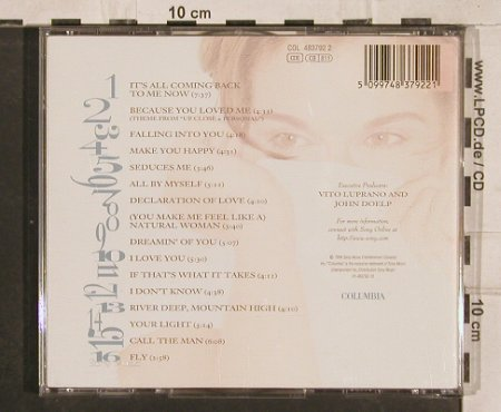 Dion,Celine: Falling Into You, 16 Tr., Columbia(), A, 1996 - CD - 83064 - 6,00 Euro