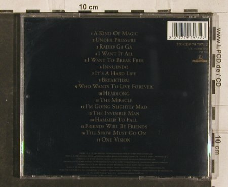 Queen: Greatest Hits 2, Parlophon(), NL, 1991 - CD - 83091 - 10,00 Euro
