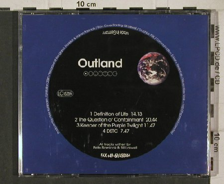 Laswell,Bill & P.Namlook: Outland 3, PW 37(), D,  - CD - 90536 - 12,50 Euro