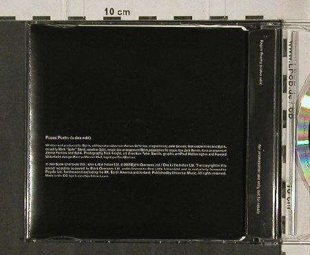 Björk: Pagan Poetry,1 Tr.Promo, One Little(), EU, 01 - CD5inch - 90676 - 10,00 Euro