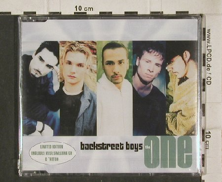 Backstreet Boys: The One*2+2 +Rosesmell Sticker, Zomba(), D,FS-New, 2000 - CD5inch - 90681 - 5,00 Euro