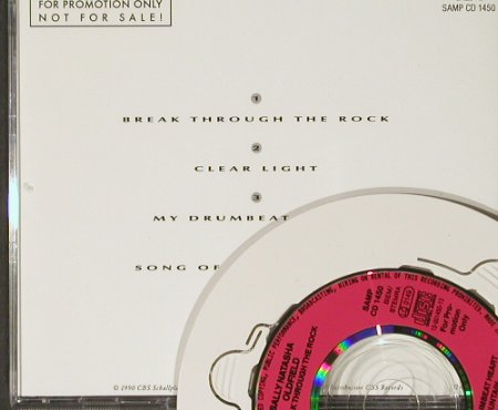 Oldfield,Sally Natasha: Break Through The Rock+3,Promo, CBS(1450), A, 90 - CD3inch - 90827 - 9,00 Euro