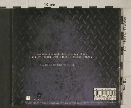 Tricky: Mission Accomplished+3,Digi, FS-New, Anti(), NL, 2000 - CD5inch - 91853 - 5,00 Euro