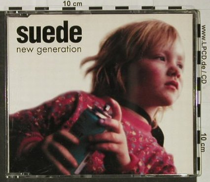Suede: New Generation +2, Nude(NUD 12CD1), UK, 1995 - CD5inch - 92900 - 5,00 Euro