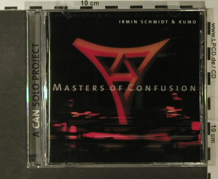 Schmidt,Irmin&Kumo: Masters of Confusion, Spoon(45), D, 2000 - CD - 95070 - 10,00 Euro