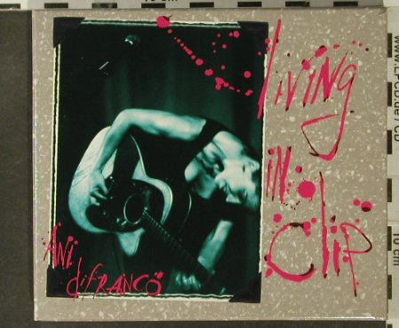 DiFranco,Ani: Living In Clip Box, Booklet, Righteous(RBR011-D), UK, 1997 - 2CD - 95202 - 15,00 Euro
