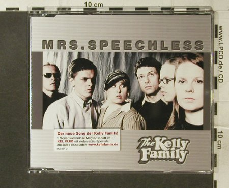 Kelly Family: Mrs.Speechless, 6 Tr., Polyd.(065 851), D, 2002 - CD5inch - 95556 - 4,00 Euro