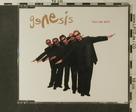 Genesis: Tell Me Why+3, Virgin(8 90095 2), EU, 1992 - CD5inch - 95865 - 4,00 Euro