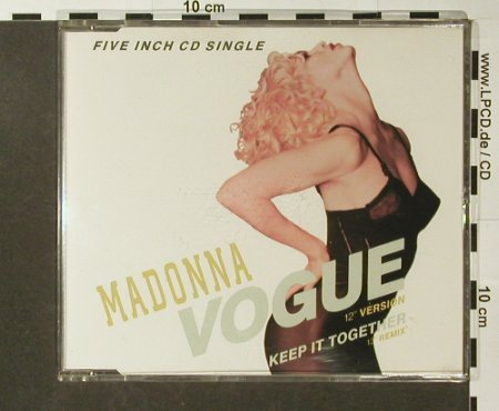 Madonna: Vogue/Keep It Together, emix, Sire(7599-21525-2), D, 1990 - CD5inch - 96426 - 4,00 Euro
