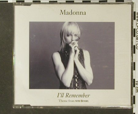 Madonna: I'll Remember*3+1 (With Honors), Sire(9362-41453-2), D, 1994 - CD5inch - 96433 - 3,00 Euro