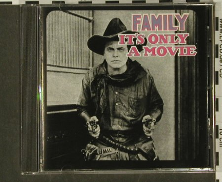 Family: It's Only A Movie'73, 9 Tr., Castle(CLAcd 323), EEC, 1992 - CD - 97192 - 5,00 Euro