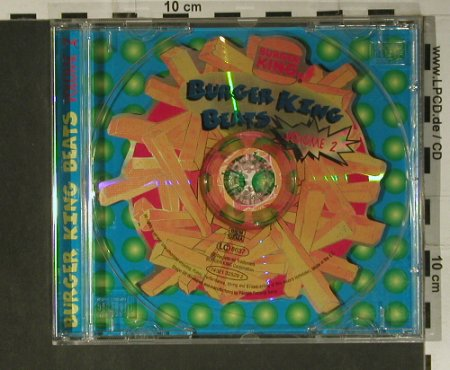 V.A.Burger King Beats: Vol.2 - 4 Tr.(Odyssey...WAR), BMG(), EC, 1994 - Shape - 98488 - 4,00 Euro