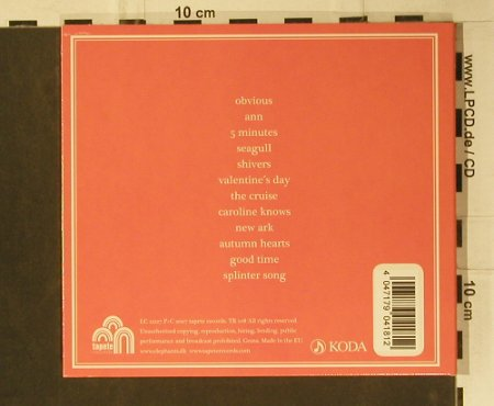 Elephants, The: Same, Digi, Tapete Rec(Tr 108), EU, 2007 - CD - 98948 - 10,00 Euro