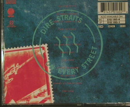Dire Straits: On Every Street, Vertigo(510 160-2), D, 1991 - CD - 99172 - 7,50 Euro