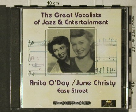 O'Day,Anita / June Christy: Easy Street, History(20.3047), ,  - 2CD - 81676 - 5,00 Euro
