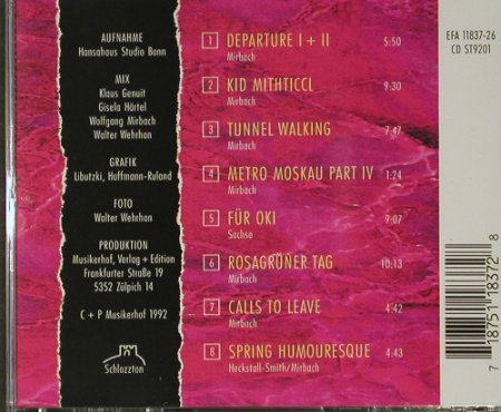 Links: Same, Musikerhof(), D, 1992 - CD - 82390 - 7,50 Euro
