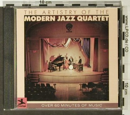 Modern Jazz Quartet: The Artistry of the, Prestige(), D,  - CD - 82419 - 11,50 Euro