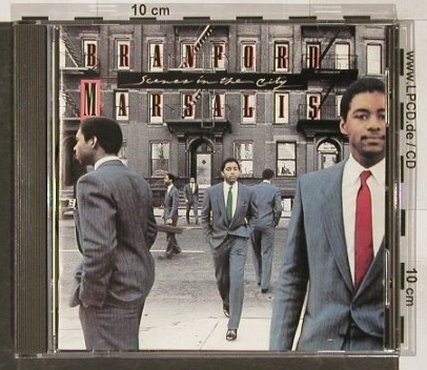 Marsalis,Branford: Scenes In The City, Columbia(), A, 1984 - CD - 82432 - 7,50 Euro