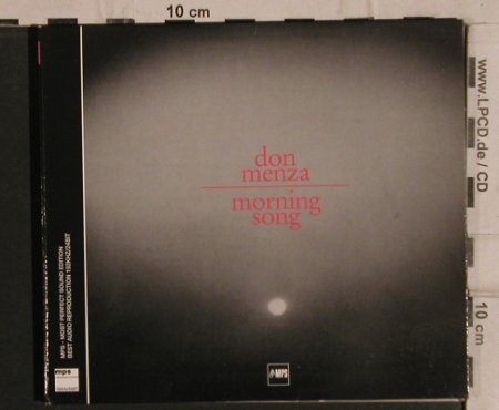 Menza,Don: Morning Song '66,  Digi, MPS(), D, 2003 - CD - 82435 - 10,00 Euro