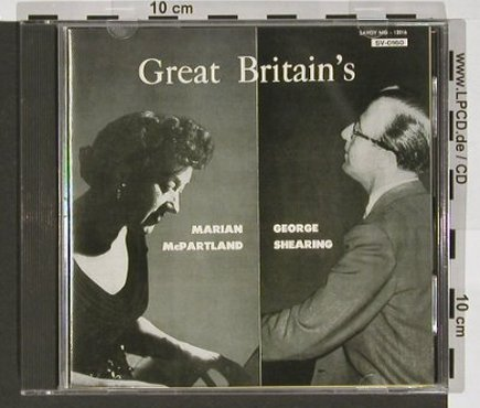 Mc Partland,M. & George Shearing: Great Britain's, Savoy(SV-0160), J, 1992 - CD - 82438 - 11,50 Euro