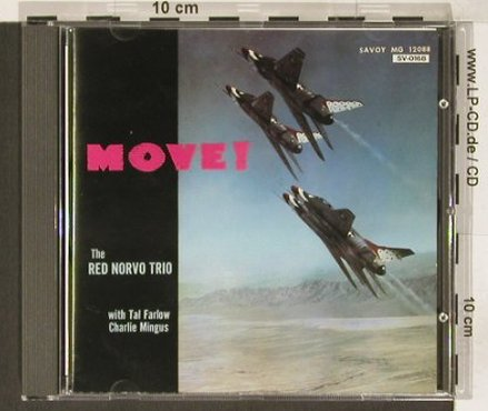 Red Norvo Trio: Move!, Savoy(), J, 1992 - CD - 82440 - 10,00 Euro