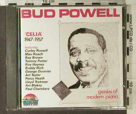 Powell,Bud: Celia 1947-1957, Giants of Jazz(53075), I, 1990 - CD - 82463 - 6,00 Euro