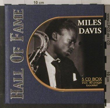 Davis,Miles: Hall of Fame, Box, Booklet, PastPerf.(), D, 02 - 5CD - 90245 - 10,00 Euro