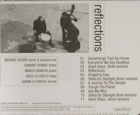 Quarteto Logreco: Reflections, FS-New, Schema(), I, 2003 - CD - 93303 - 10,00 Euro