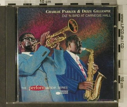 Parker,Charlie & D.Gillespie: Diz'n Bird At Carnegie Hall, Capitol(8 57061 2), NL, 1997 - CD - 94955 - 10,00 Euro