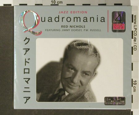 Nichols,Red: Quadromania, FS-New, Membran(222464), D, 2005 - 4CD - 96521 - 10,00 Euro