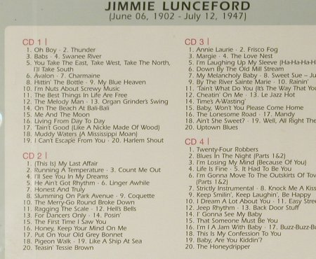 Lunceford,Jimmy: Life Is Fine, Box, FS-New, Membran(222456), D, 2005 - 4CD - 96627 - 10,00 Euro