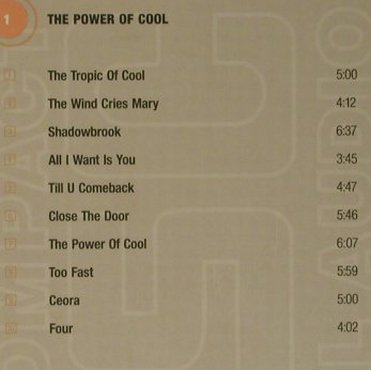 Harrison,Donald: The Power of Cool/Blues atBradley's, Modern Jazz Archive(), D,Digibook,  - 2CD - 99283 - 7,50 Euro