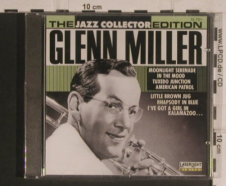 Miller,Glenn: Same-The Jazz Collector Edition, LaserLight(15 701), D, FS-New, 1990 - CD - 99599 - 5,00 Euro