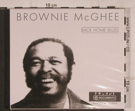 McGhee,Brownie: Back Home Blues, FS-New, TIM(), CZ, 2001 - CD - 99705 - 5,00 Euro