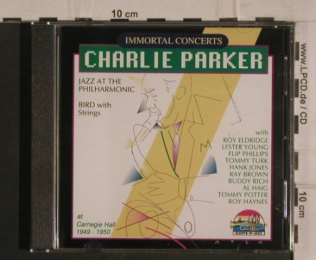 Parker,Charlie: At Carnegie Hall 1949-50, Giants o.J(53111), I, 1991 - CD - 99918 - 7,50 Euro
