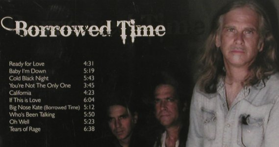 Wolfe,Todd & Under The Radar: Borrowed Time, Hypertension(HYP 9266), EU, 2009 - CD - 80138 - 10,00 Euro