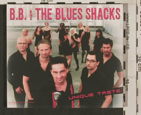 B.B. and the Blues Shacks: Unique Taste, Digi, Crosscut(ccd 11096), D, 2008 - CD - 80254 - 10,00 Euro