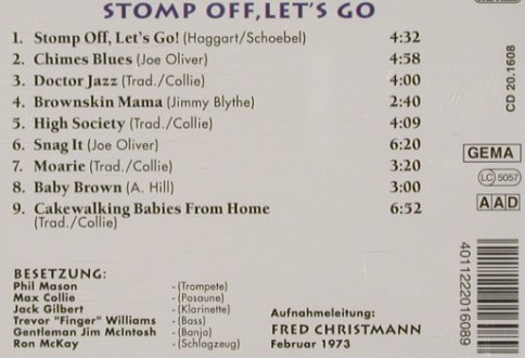 Collie,Max & Rhythm Aces: Stomp of, Let's go, Pastels(20.1608), D,  - CD - 81335 - 4,00 Euro