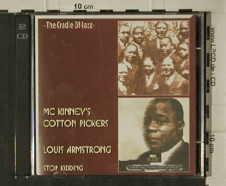 Mc Kinney's CottonPickers/Armstrong: Stop Kidding, woc, History(20.3024-HI), ,  - 2CD - 81579 - 5,00 Euro