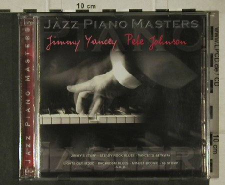 Yancey,Jimmy / Pete Johnson: Jazz Piano Masters, History/Tim(205325-305), D,  - 2CD - 81607 - 5,00 Euro