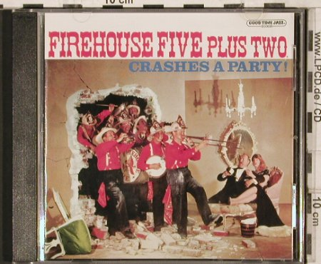 Firehouse Five plus 2: Crashes a Party!, ZYX(GTJCD-10038-2), D, 2000 - CD - 81957 - 7,50 Euro