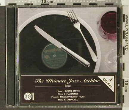 V.A.The Ultimate Jazz Archive: 10-Blues, Membran(222766), , 2005 - 4CD - 93961 - 7,50 Euro