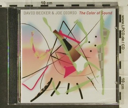 Becker,David & Joe Diorio: The Color Of Sound,FS-New, Acoustic Music(319.1262.2), D, 2005 - CD - 94882 - 10,00 Euro