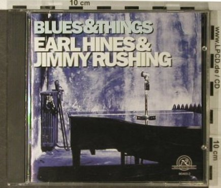 Hines,Earl & J.Rushing: Blues & Things(67), New World Records(80465-2), US, 1996 - CD - 95022 - 10,00 Euro