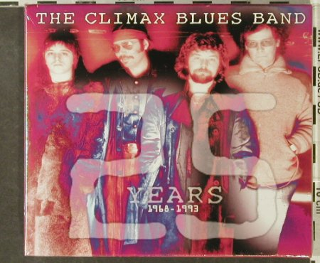Climax Blues Band: 25 Years, Box, Booklet, FS-New, Repertoire(REP 4310-WO), D, 1994 - 2CD - 95382 - 10,00 Euro