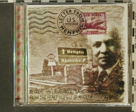 V.A.Letter From Memphis: 20 gr.Blues/Rock Tracks, Repertoire(REP 4693-WY), D, 1998 - CD - 95525 - 10,00 Euro