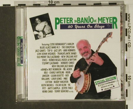 "Meyer,Peter""Banjo"": 40 Years On Stage, Happy Bird(), D, 1998 - 2CD - 97213 - 10,00 Euro"