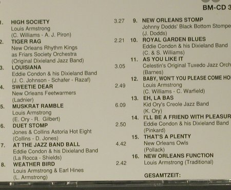 V.A.Dixieland: Riverboat-Shuffle, CD 1-3, Bella Musica(31.4128-4130), D,  - CD*3 - 98989 - 7,50 Euro
